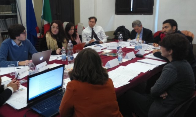 Meeting of the Foundation with representatives MUS-E in Bologna.