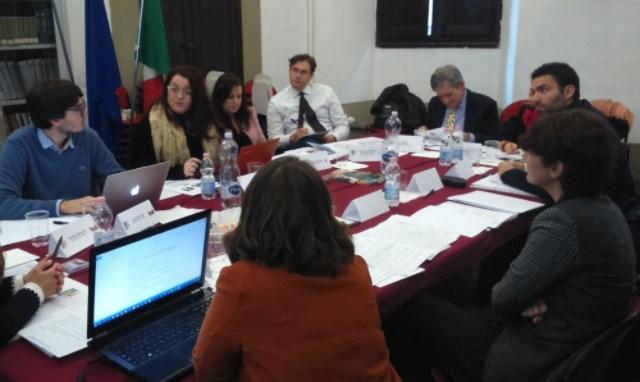 Encuentro de la Fundación con representantes MUS-E en Bolonia.