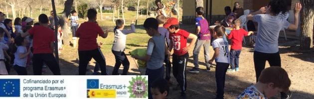 Proyecto Erasmus + 'We All Count': Encuentro de Escuela Rural CRA Río Tajo/José Manuel Oviedo 'Con los Cinco Sentidos'